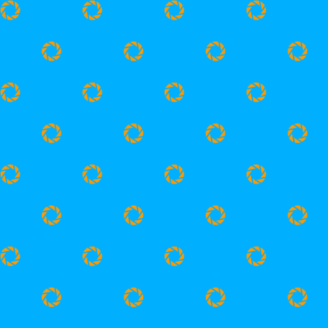 Aperture Dot (blue) fabric by catimenthe on Spoonflower - custom fabric