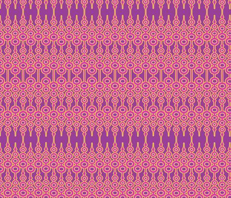 Pinky Ornament fabric by thirdhalfstudios on Spoonflower - custom fabric