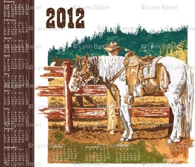 2012 Western Tea Towel
