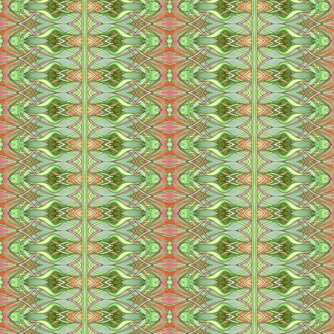 Tiny Nouveau Mad Zig Zag Plaid fabric by edsel2084 on Spoonflower - custom fabric
