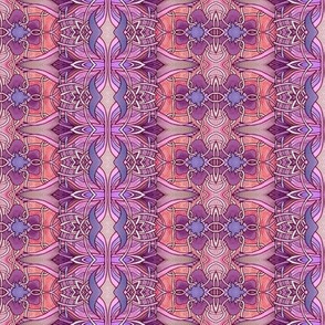 Basket-weave Tulip Stripe Nouveau