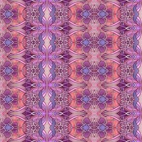 Basket-weave Tulip Stripe Nouveau