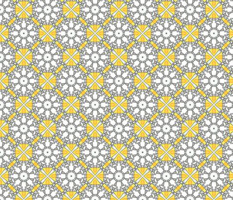 Waiteri's Octagons fabric by siya on Spoonflower - custom fabric