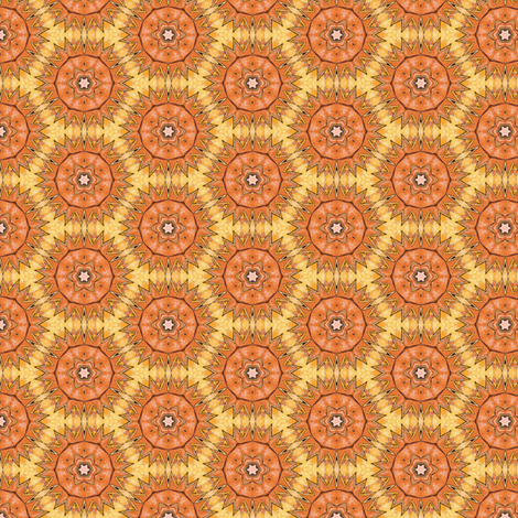Hia's Sunburst fabric by siya on Spoonflower - custom fabric