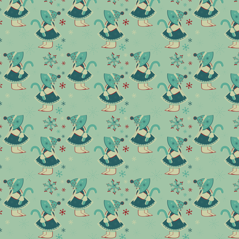 Icy Cuteness! fabric by eppiepeppercorn on Spoonflower - custom fabric