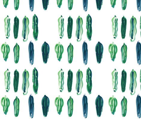 cestlaviv_zuchinni fabric by cest_la_viv on Spoonflower - custom fabric