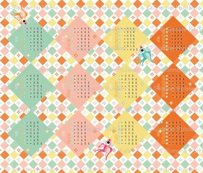 2012 Tea Towel Calendar