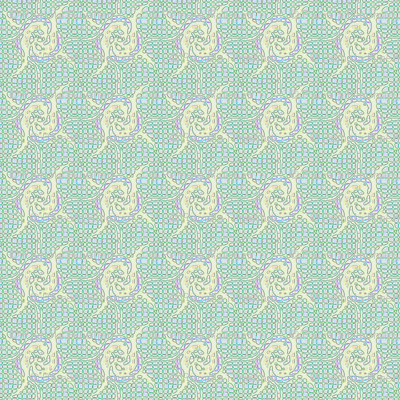 spin rosettes pastel