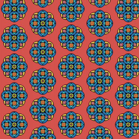 Glass Flower fabric by david_kent_collections on Spoonflower - custom fabric