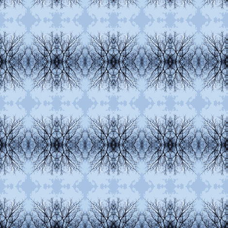 Branches_BlueIMG_8809 fabric by glennis on Spoonflower - custom fabric