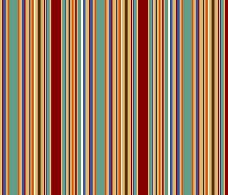 gentstripe fabric by wendymoon on Spoonflower - custom fabric