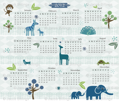 Zoo - 2012 Calendar