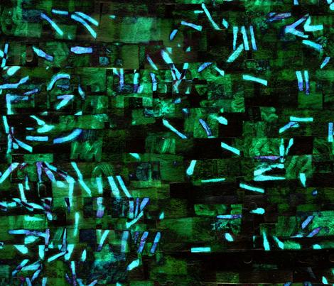 Diatoms - 3 fabric by heytangerine on Spoonflower - custom fabric