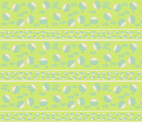 borders and ribbons fabric by kato_kato on Spoonflower - custom fabric