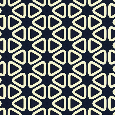 Vintage Soft Triangles fabric by stoflab on Spoonflower - custom fabric