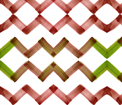cestlaviv_chevron_topaz fabric by cest_la_viv on Spoonflower - custom fabric