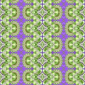Green and Purple Plus and Multiply Garden