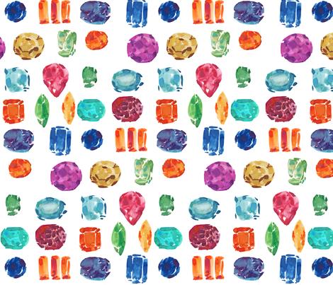 cestlaviv_semi precious fabric by cest_la_viv on Spoonflower - custom fabric