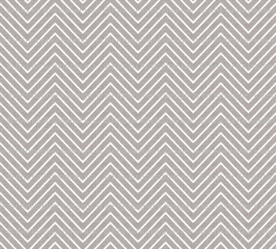 Chevron Chic - Mini - Silver Grey