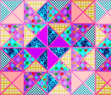DesignPatternsLayouts5an6 fabric by grannynan on Spoonflower - custom fabric