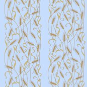 Rart_nouveau_wheat_wallpaper_-_blue_shop_thumb