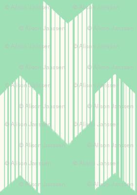 boho arrows - small - mint