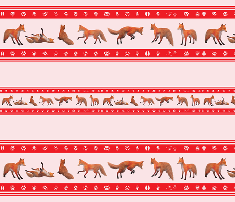 Red Fox Border, Red