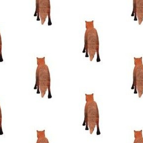 Red Fox Tail, S