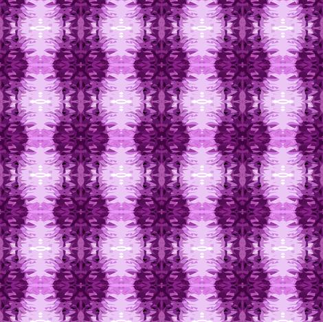 Purple Pow fabric by glennis on Spoonflower - custom fabric