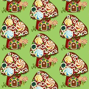 Gnomeland gingerbread house