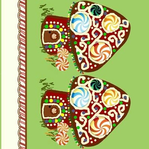 gingerbread shroomhouse border