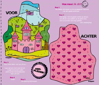 Princess castle Ready to sew