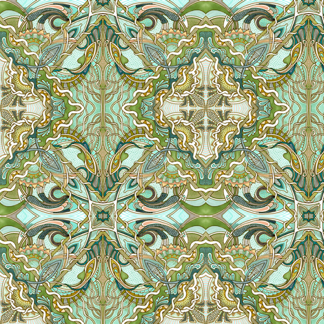 Under the Sea fabric by edsel2084 on Spoonflower - custom fabric