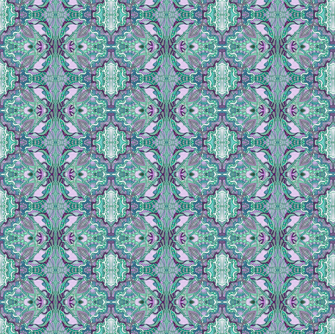 Oh Grandmother, What Demure Checks You Have fabric by edsel2084 on Spoonflower - custom fabric