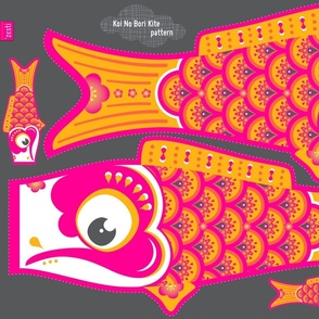 Koi No Bori Kite Pattern