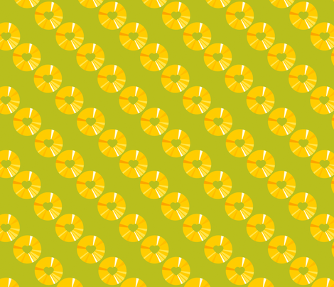 pineapple fabric by jackieatweelife on Spoonflower - custom fabric