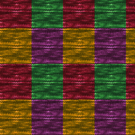 rainbow_quilt_wool_knit_small_squares fabric by vinkeli on Spoonflower - custom fabric