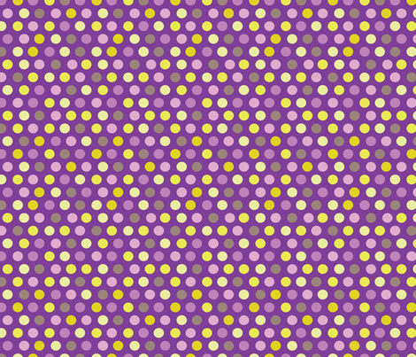 Dots - aubergine fabric by kayajoy on Spoonflower - custom fabric