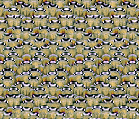 woodduck opal fabric by glimmericks on Spoonflower - custom fabric