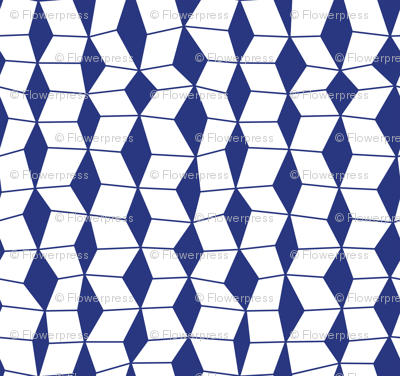 Fold - Klein Blue