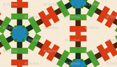 Retro Colorful Grid