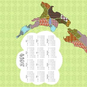 Aotearoa 2014 Calendar