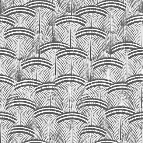 woodduck gray pearl fabric by glimmericks on Spoonflower - custom fabric
