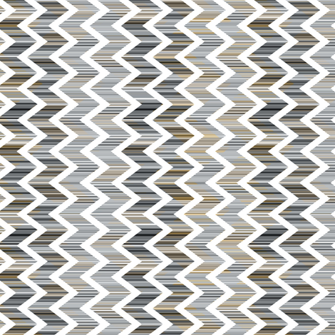 Patina Chevron vertical fabric by joanmclemore on Spoonflower - custom fabric