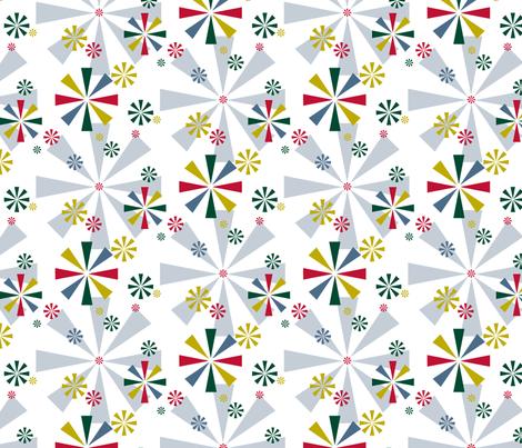 Circus Pinwheels (Christmas)