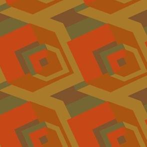 Brown big Cubes