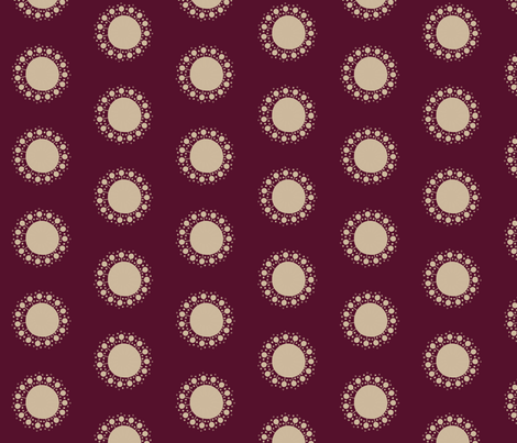 Sprout in Plum fabric by bluenini on Spoonflower - custom fabric