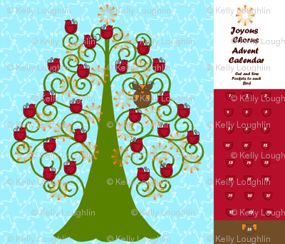 Joyous Chorus Advent Calendar
