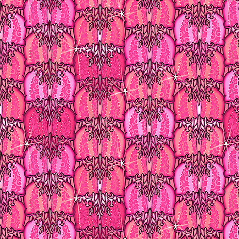 at_the_ball strawberry fabric by glimmericks on Spoonflower - custom fabric