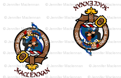 MacLennan Clan Badge Crest